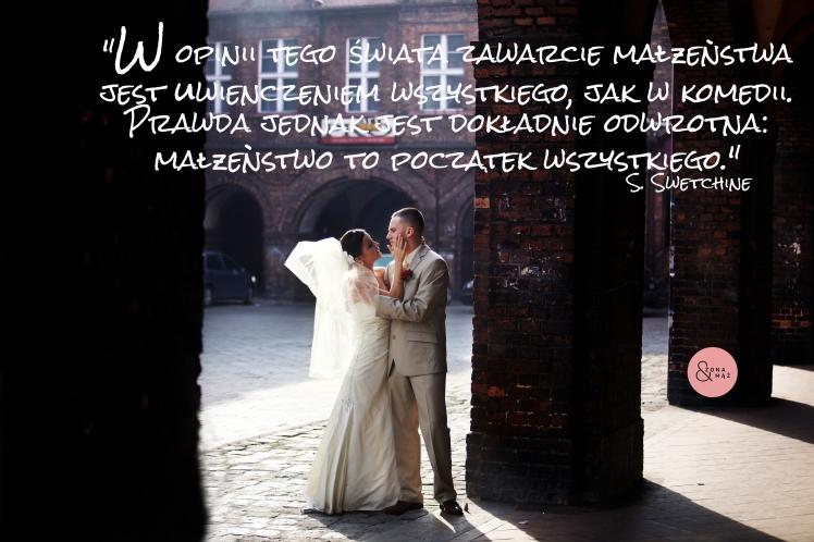 małżeństwo jest jak komedia